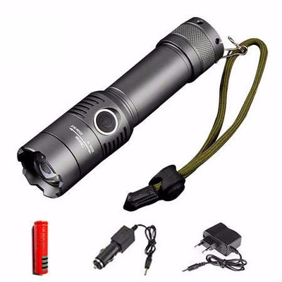 Military Grade 2000 Lumen LED Waterproof Flashlight