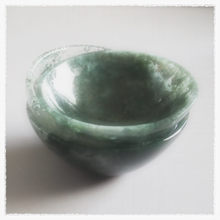 Handmade Moss Agate Crystal Bowls - Song of Stones