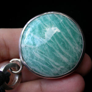 Amazonite Power Pendant - Song of Stones
