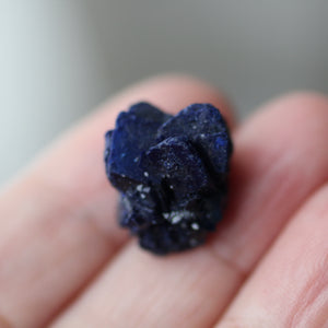 Azurite Crystal Heart - Song of Stones