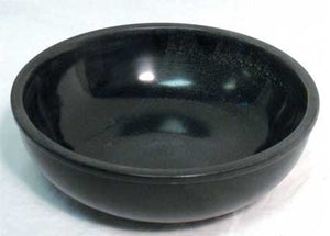 Black Marble Scrying Bowl - Song of Stones