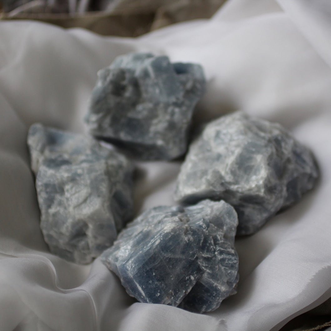 Blue Calcite - Song of Stones