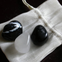 Black and White Stone Trio