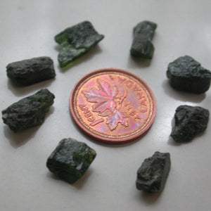 Raw Chrome Diopside - Song of Stones