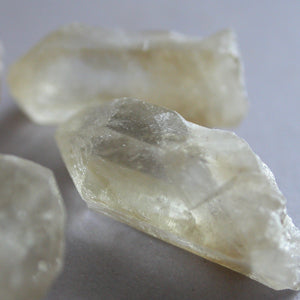 Soft Golden Citrine Crystals - Song of Stones