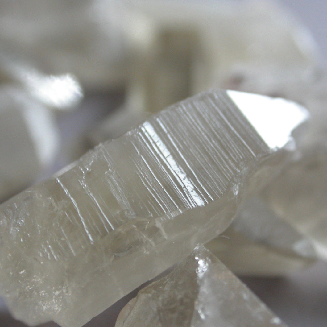 Citrine Lemurian Crystals - Song of Stones