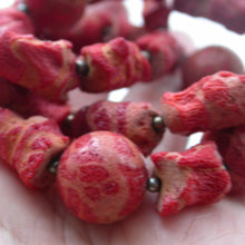 Load image into Gallery viewer, Natural Red Coral Necklace - Song of Stones