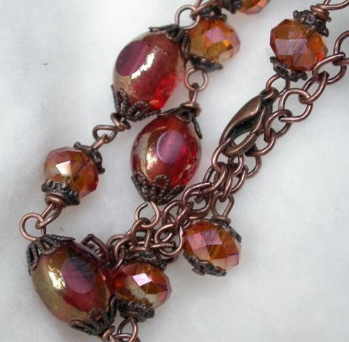 Heart Fire Necklace - Song of Stones