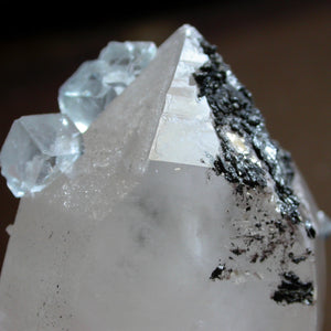 Fluorite and Quartz Crystals - Song of Stones