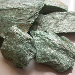 Raw Fuchsite - Song of Stones