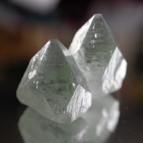 Green Apophyllite Crystals - Song of Stones