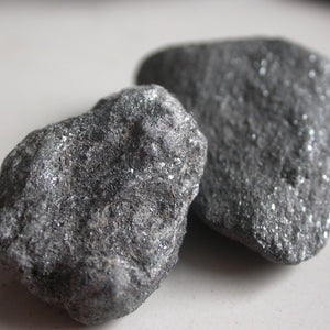 Raw Glittery Specular Hematite - Song of Stones