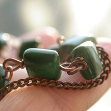 Load image into Gallery viewer, Magickal Malachite Bracelet - Song of Stones