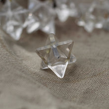 Load image into Gallery viewer, Quartz Merkabah Pendant