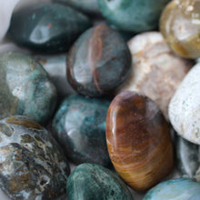 Load image into Gallery viewer, Ocean Jasper Palm Stones - Song of Stones