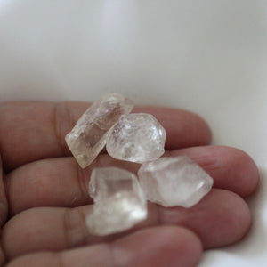 Peach Topaz Crystals - Song of Stones