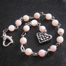 Pink Moonstone Bracelet - Song of Stones