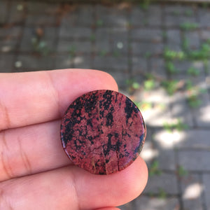 Rare Red Obsidian Scribal Stone - Song of Stones