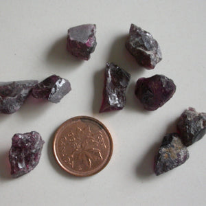 Garnet Raw Crystal Pieces - Song of Stones