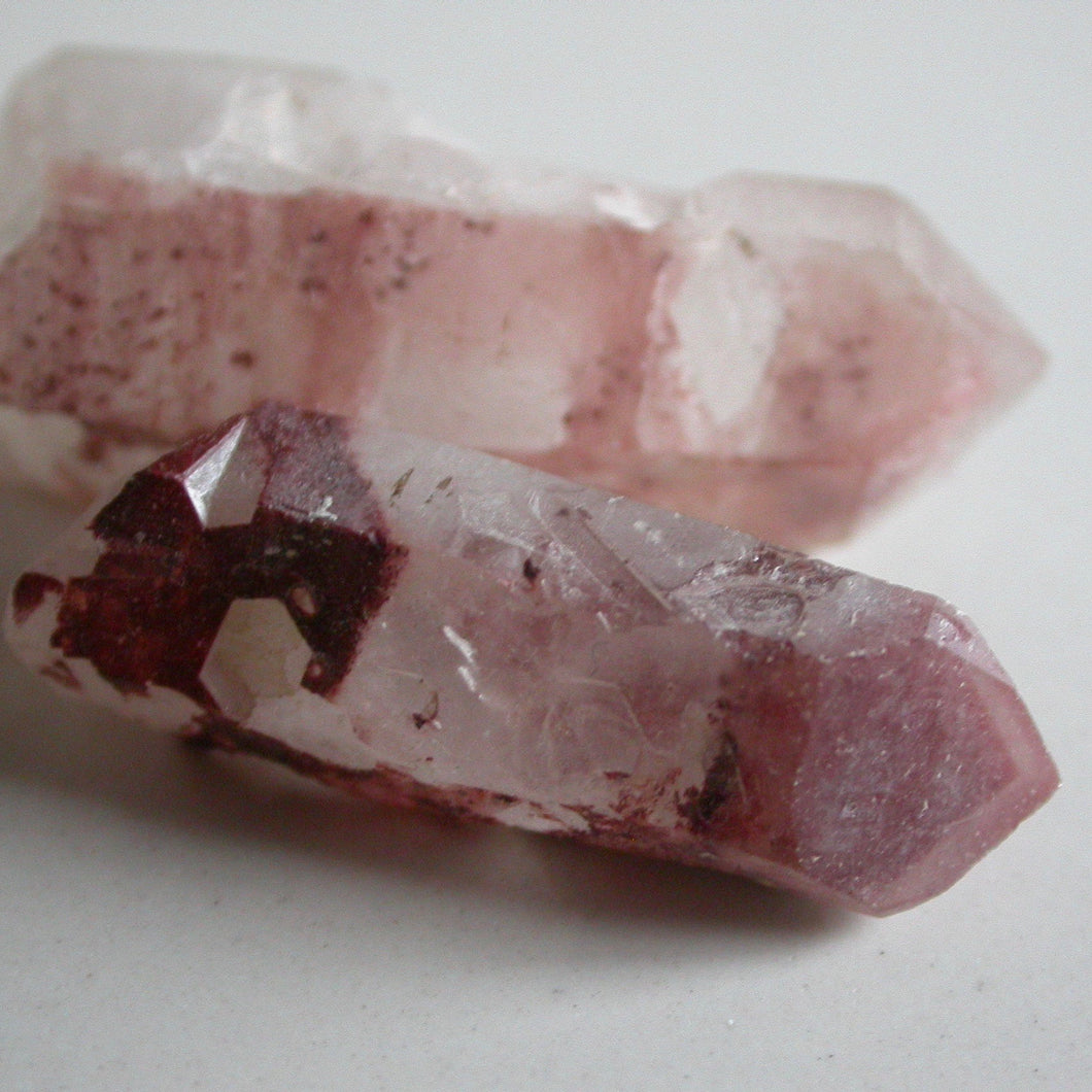 Red Phantom Quartz Crystals - Song of Stones