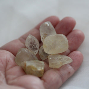 River Tumbled Topaz Crystal Orbs - Song of Stones