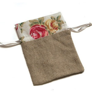 Natural Linen Pouch - Song of Stones