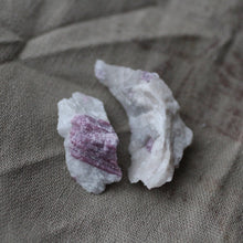 Load image into Gallery viewer, Pink Tourmaline Dolphin Duet - Song of Stones