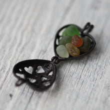 Load image into Gallery viewer, Heart Glass Pendant - Song of Stones