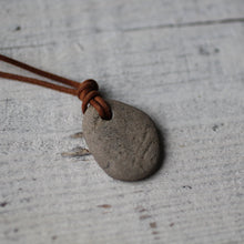 Load image into Gallery viewer, Beach Stone Pendant - Song of Stones