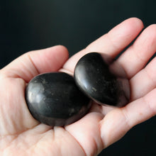 Load image into Gallery viewer, Polished Shungite Hand Stones from Madagascar - Song of Stones