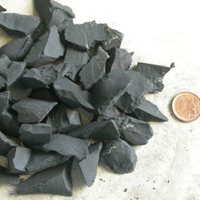 Raw Natural Shungite grids - Song of Stones