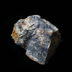Sodalite in Natrolite - Song of Stones