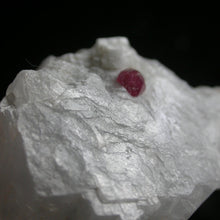 Spinel in White Marble