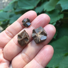 Load image into Gallery viewer, Staurolite Fairy Stone Crystal Blessing Trio - Song of Stones