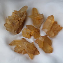 Load image into Gallery viewer, Tangerine Quartz Crystal Clusters - Song of Stones