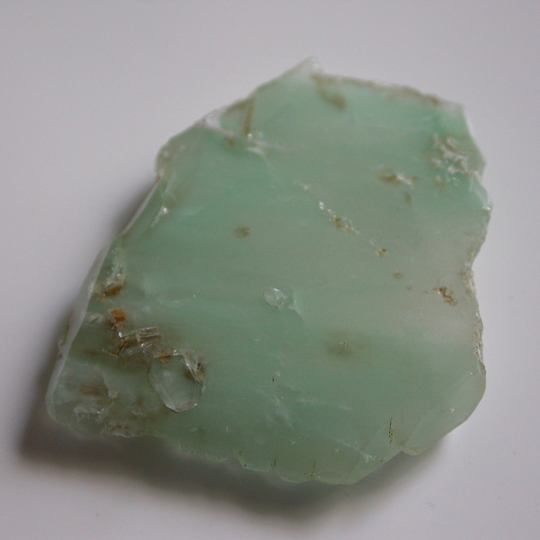 Turquoise Phantom Quartz Crystal 061502 - Song of Stones