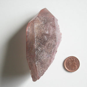 Emraa of the Royal Red Quartz Crystals - Song of Stones