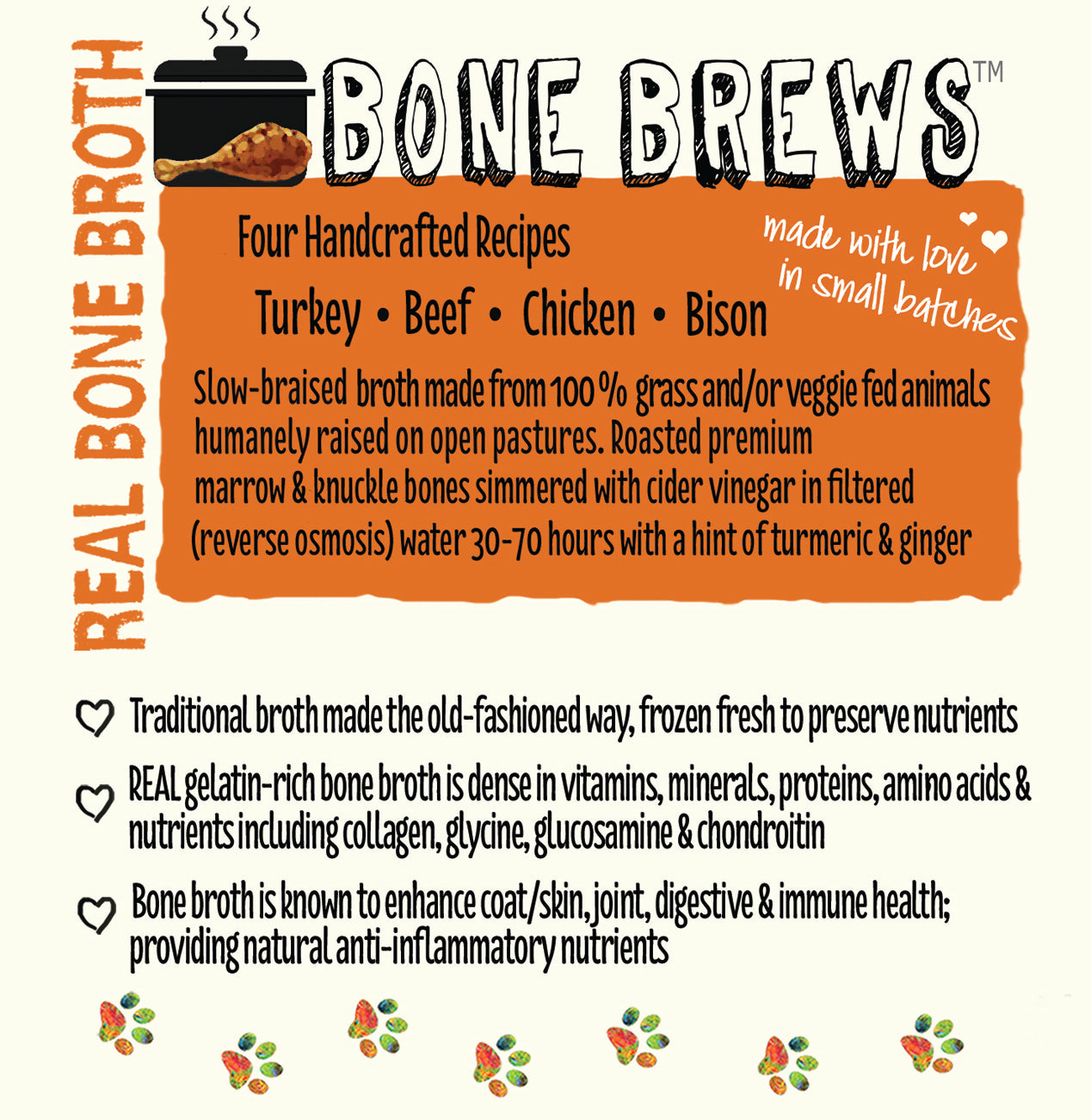 Nuggets Healthy Eats - Bone Brews Label