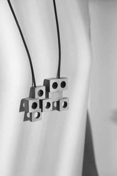 Nakagin Capsule Tower | necklace