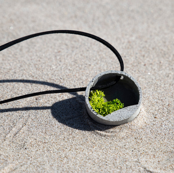CONCRETE GARDEN necklace