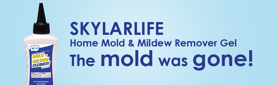 skylarlife mold and mildew remover gel the mold was gone