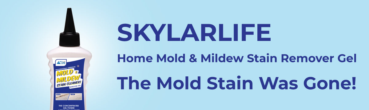 skylarlife home mold & mildre stain remove gel the mold stain was gone