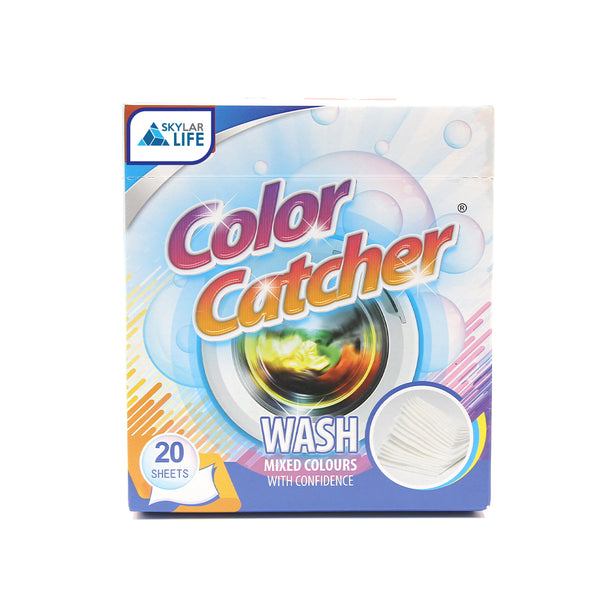 Skylarlife Color catcher Anti Cloth Dyed Leaves Laundry Color Run Remove Sheet in Washing Machine Protect The Clothes