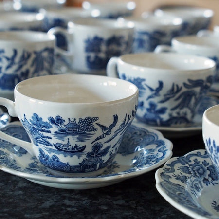The eponymous Willow pattern