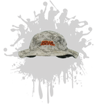 ATWL Bucket Hat  3-D  DESERT CAMO/ORANGE/BLACK
