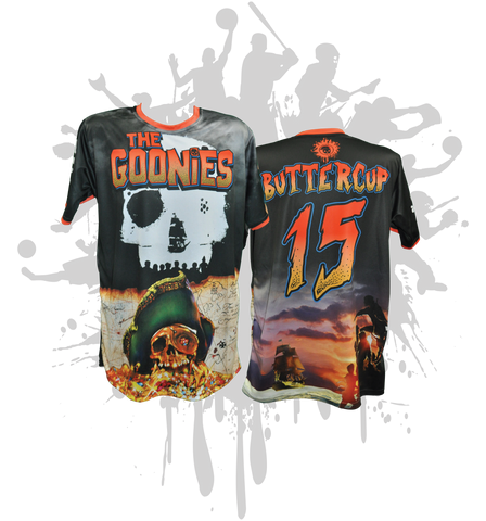Goonies Never Die Mens Full Dye Jersey