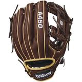 "WILSON A450 11.50"" YOUTH UTILITY GLOVES WTA04RB181787"