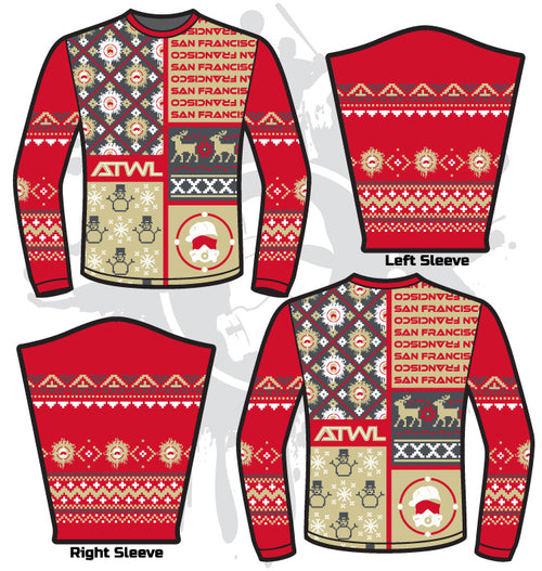 Football ATWL Christmas Spirit Sweater-1