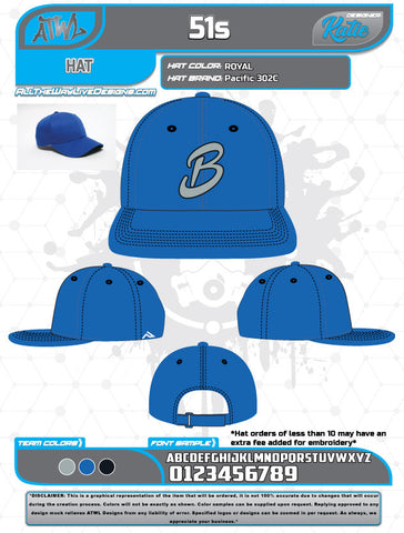 Bloomingdale Fall League Hats