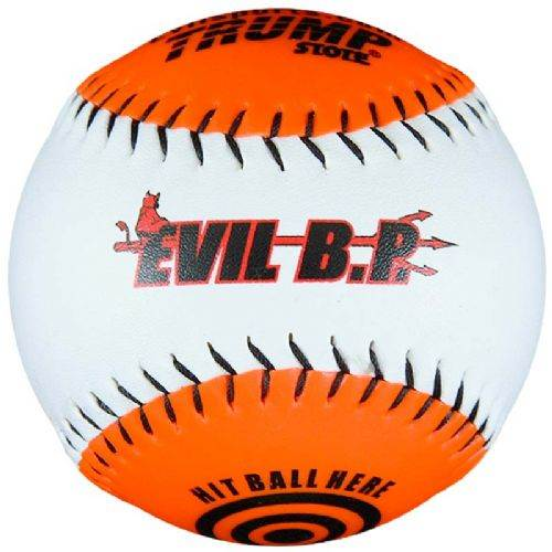 TRUMP® AK-EVIL-BP EVIL SPORTS SYNTHETIC LEATHER 12 INCH BATTING PRACTICE SOFTBALL